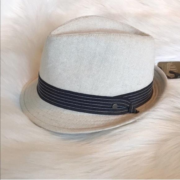 bf9bd77480f Stetson cotton   linen fedora